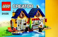 Lego Creator LEGO® CREATOR 31035 STRANDHÜTTE 31035 User Manual