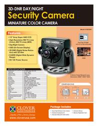 Clover Technologies Group HDC041 Leaflet