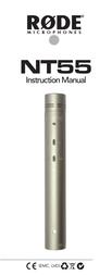 Rode Microphones NT55 User Manual