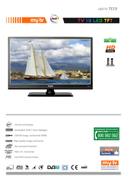MyTV TE19 Leaflet