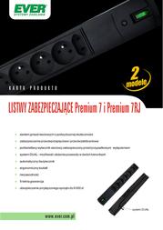 Ever PREMIUM 7RJ, 3m, 7 sockets 03-01-0003-11 Leaflet