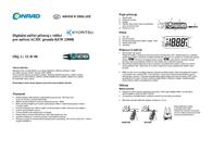 Kyoritsu KEW 2300R Digital-Multimeter, DMM, LCD, 1049 counts KEW 2300R Data Sheet