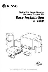 Kinyo R-655U User Manual
