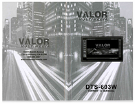 Valor dts-603w User Guide