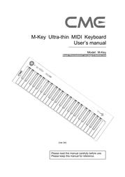 CME m-key User Guide