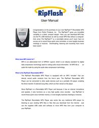 Pogo RipFlash User Manual
