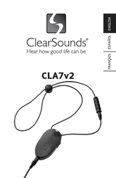 Clearsounds CLA7V2 User Manual
