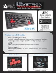 Azio KB528U Leaflet
