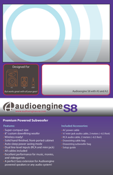 Audioengine AS8 Leaflet