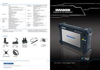 Durabook T7Q Standard T7Q STANDARD Листовка