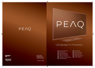 PEAQ PTV462403-S User Manual