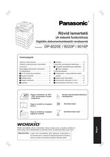 Panasonic DP-8020P Operating Guide