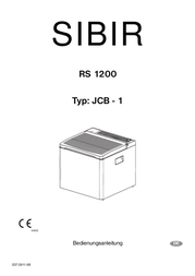 Dometic Group Dometic SIBIR RS1200 Absorber Electric Cool Box 41 Litres 12/230 V or liquid gas 9105203329 Data Sheet