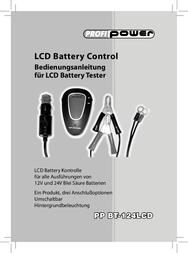 Profi Power Car battery tester 24 V, 12 V 2.913.900 2.913.900 User Manual