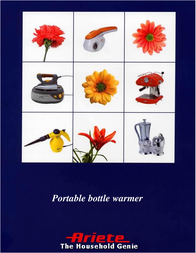 Ariete Portable bottle warmer 2861 User Manual