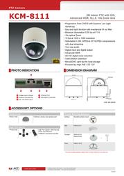 United Digital Technologies KCM-8111 Merkblatt