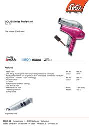 Solis 968.91 Leaflet