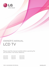 LG 32LK310 Owner's Manual