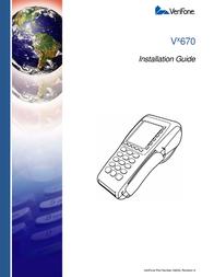 VeriFone Vx670 User Manual