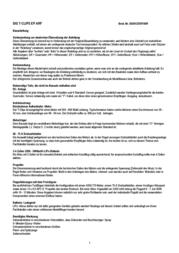 Sig ARF 1525 mm SIGRC87EPARF Data Sheet