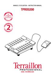 Terraillon TPR05200 User Manual