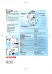 Gossen Digiflash H254A Leaflet