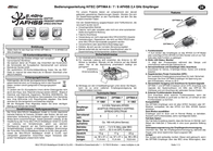 Hitec 9-channel receiver 2.4 GHz with Connector system JR 111062 User Manual