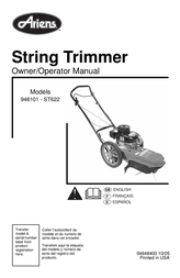 Ariens 946101-ST622 User Manual