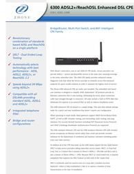 Zhone 6382-A1-200 User Manual