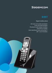 Sagemcom D35T Leaflet