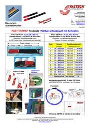 FASTECH FAST-VSTRAP F101-25-240-5 Data Sheet