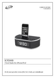 iLive ICP200B User Manual
