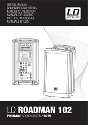 LD Systems LD RM102 ROADMAN PA-ANLAGE LDRM102 Data Sheet