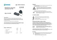 Gao Dimm adapter with sliding regulator Black 0784 Leaflet