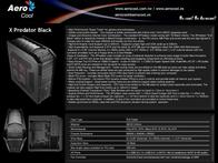 Aerocool XPredator EN56410 Leaflet