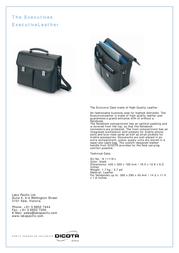 Dicota ExecutiveLeather N4528L Leaflet