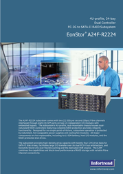 Infortrend A24F-R2224 4U 24-Bay Rackmount A24F-R2224-15 User Manual
