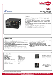 Nanopoint S12-330 power supply S12-330 Leaflet