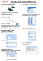 Qstarz bt-q1000xtm Quick Setup Guide