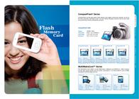 PQI 512MB SD mini Memory Card SD-MINI-512MB Leaflet