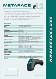 Metapace S-2 META-S2S Leaflet