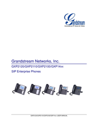 Grandstream cord-connected VoIP-telephone GXP-1450 Data Sheet