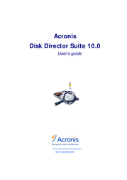 Acronis Disk Director Suite 10.0 DD10DB User Manual
