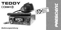 President TEDDY ASC CB RADIO 40331 User Manual