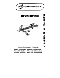 Barnett Crossbows revolution User Manual