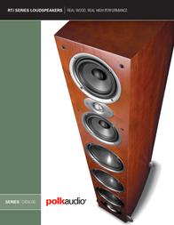Polk Audio RTIA1 User Manual