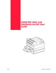 Genicom LN45 User Manual