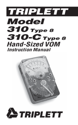 Triplett 310-C 3022 User Manual