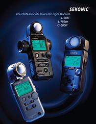 Sekonic L-758DR 100389 User Manual