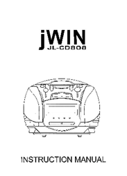 jWIN JL-CD808 User Manual